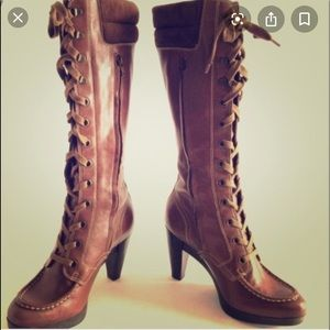 Cole Haan Lace up boots